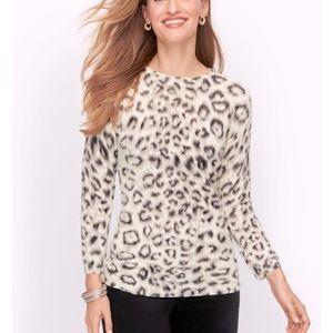 🔥NEW 100% Cashmere Leopard Sweater